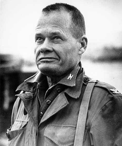 chesty puller Lgen chesty puller is an awesome military person to quote, second only to patton.
