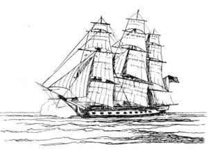 Continental ship Randolph