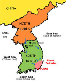 Korean War Map 001