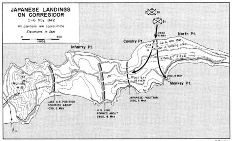 IJA landing Corregidor 1942