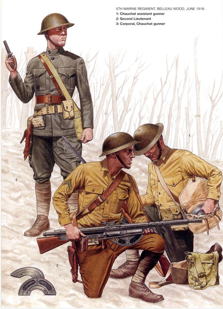 At Belleau Wood —Part III – Fix Bayonets!