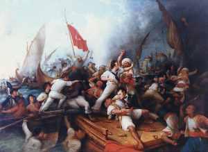Battle of Derne, 1805