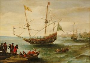 Algerian Corsair Andries Van Eertvelt
