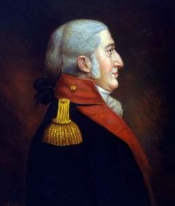 Franklin Wharton Lieutenant Colonel Commandant