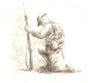 World War I Marine 001