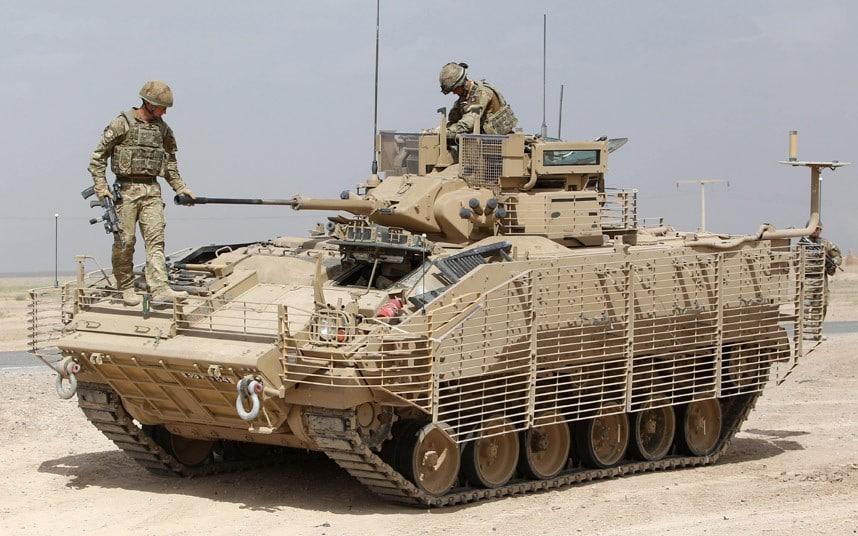 Warrior Armored Vehicle 001