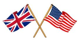 UK-US Flags