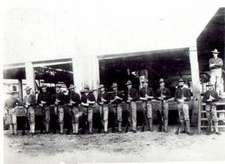 Marines in Panama 1903
