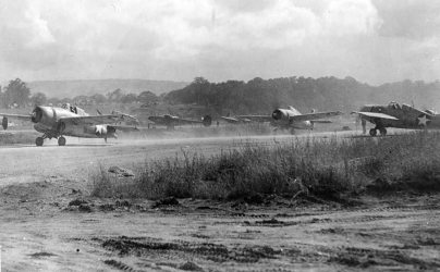F4F Wildcats On Guadalcanal