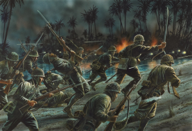 Japanese Army Assault