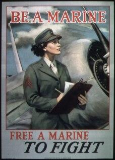 Womens Reserve USMC