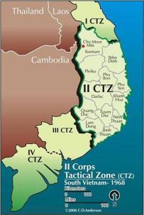 Corps Zones RVN