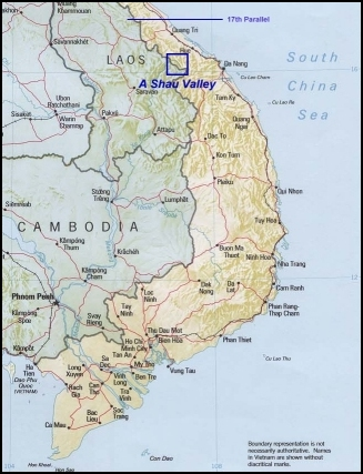 MAP A Shau Valley 001